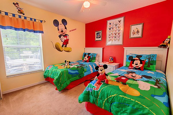 Disney Twin Bedroom