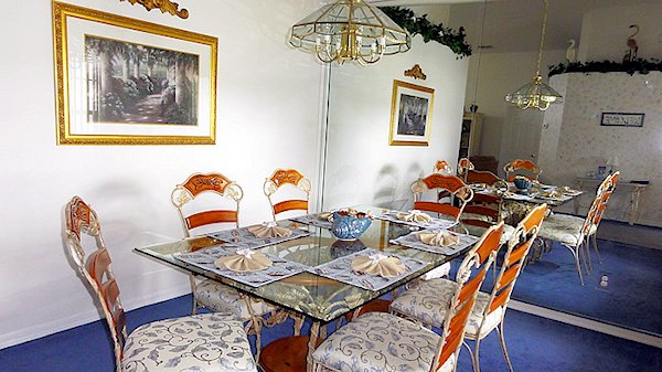 Dining Area for those special meals at home