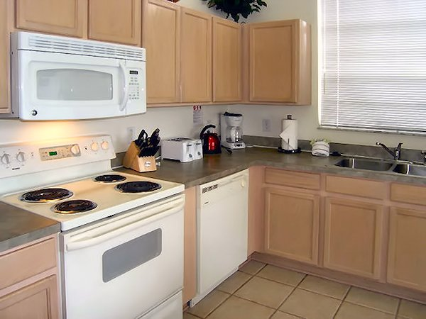 Kitchen. We have now added granite work top