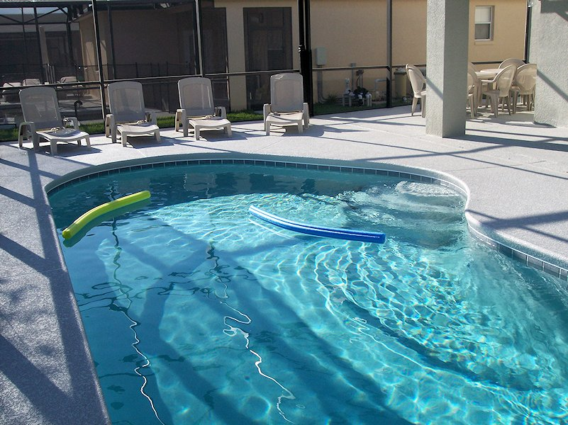 Pool Area showing Safety Fence Removed